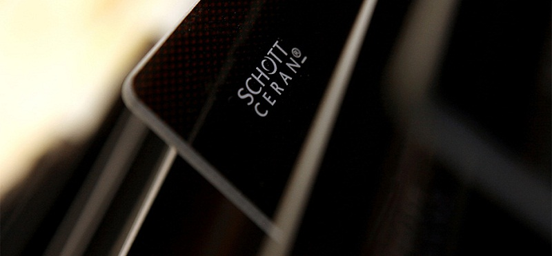 Mặt kính SchottCerant cao cấp trang bị cho bếp từ.