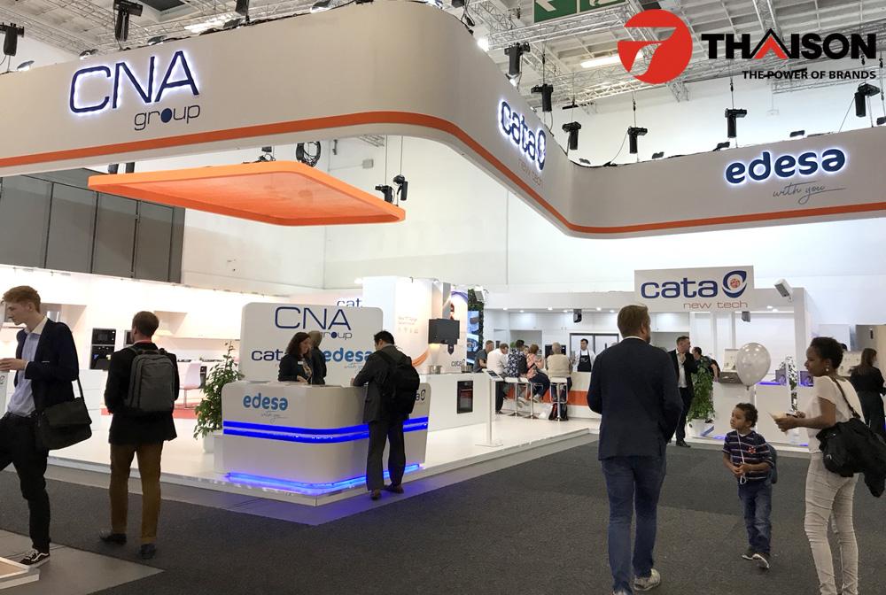 Lãnh đạo Bếp Thái Sơn tham quan hội chợ công nghệ IFA