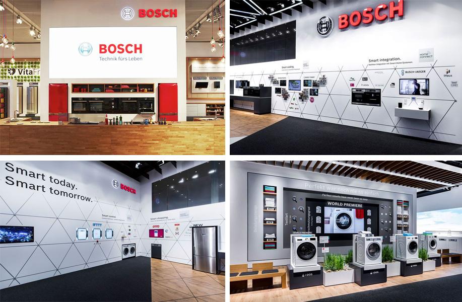 Thiết bị Bếp Bosch tham gia IFA-2018