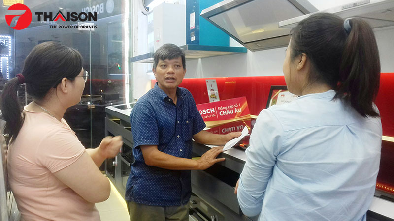 Bếp Thái Sơn địa chỉ mua thiết bị bếp được nhiều người tiêu dùng tin tưởng