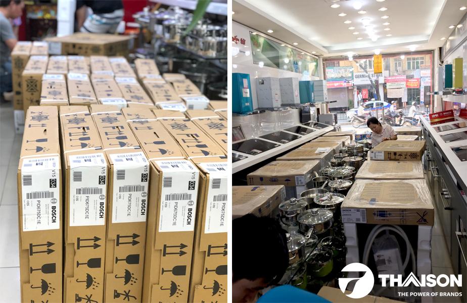 Đại lý thiết bị bếp Bosch Việt Nam