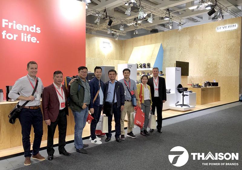 Giám đốc công ty Bếp Thái Sơn tại Hội chợ công nghệ IFA 2018 - CHLB Đức