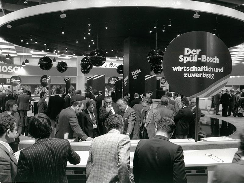 Máy rửa bát Bosch có mặt tại Hội chợ năm 1977