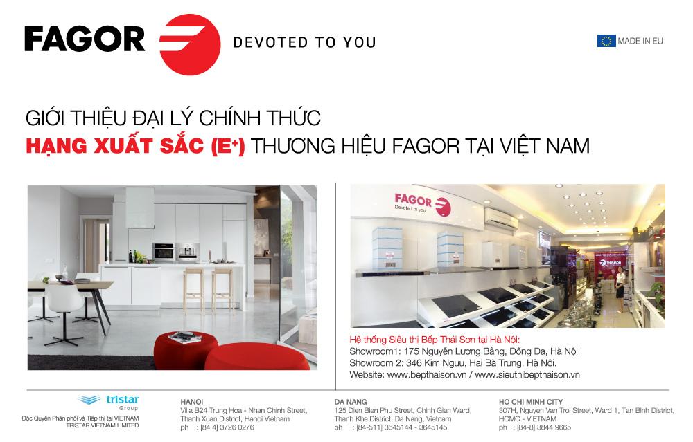 Đại lý Fagor chính hãng tại Hà Nội