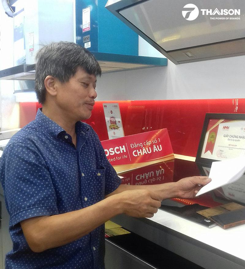 Phỏng vấn khách hàng tại Bếp Thái Sơn