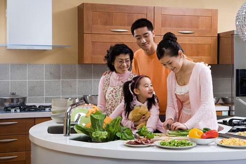 Căn bếp là tâm hồn của ngôi nhà