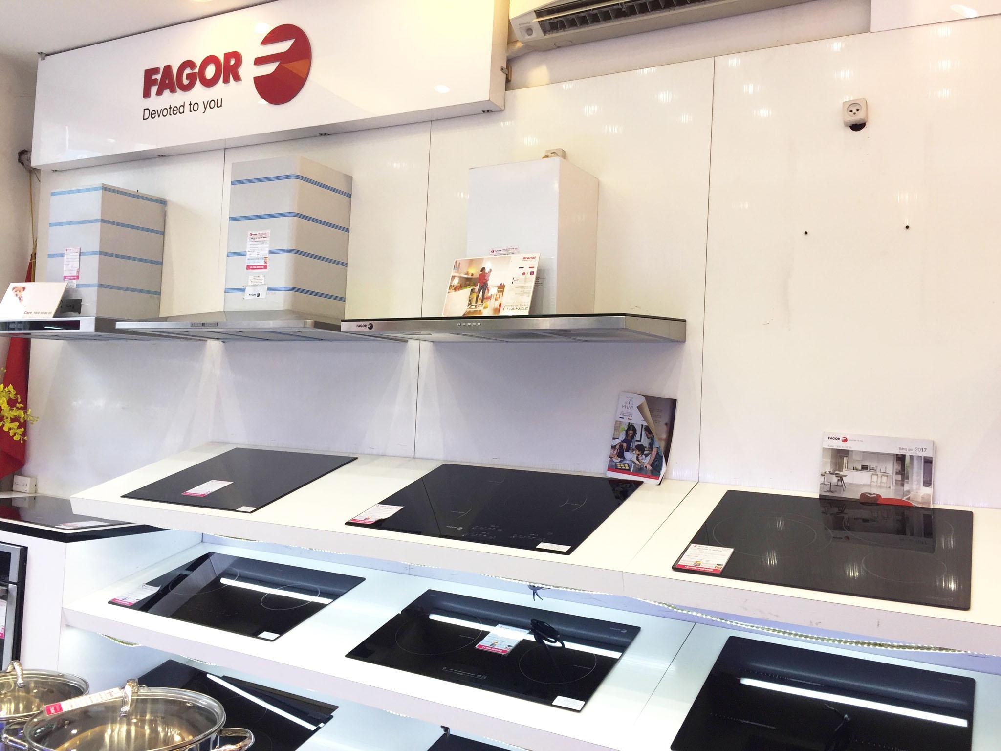 Là đại lý xuất sắc hạng E+ của Fagor Tristar - bếp từ đến từ Tây Ban Nha