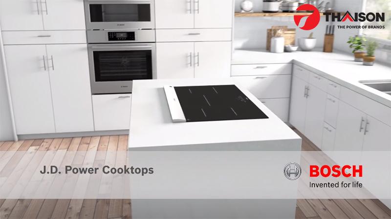 Bếp từ Bosch hội tụ những tính năng hiện đại nhất