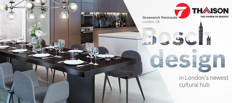 Bosch đem lại sự sang trọng cho nhà bếp trời Âu