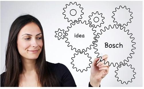 Bosch phát triển mạnh mẽ các ý tưởng sáng tạo, bằng sáng chế và phát minh