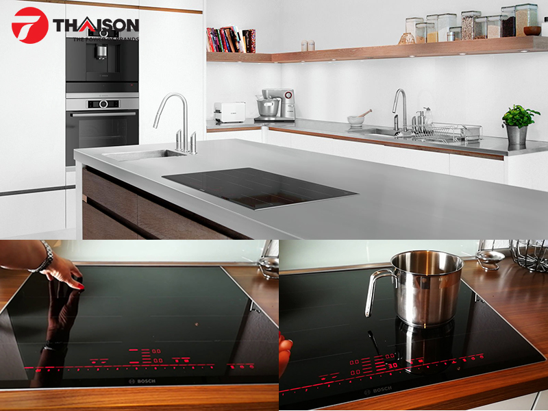 Bếp từ Bosch PXX675DC1E vùng nấu linh hoạt