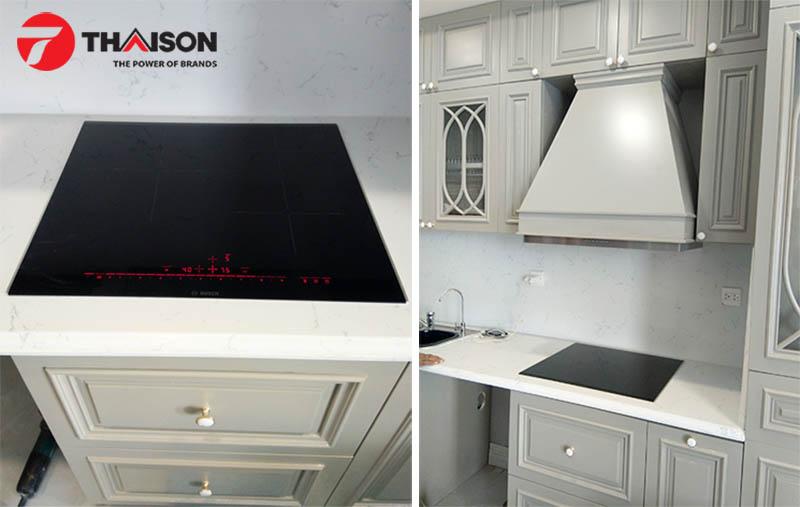 Bếp Thái Sơn lắp đặt bếp từ Bosch PID675DC1E cho khách hàng