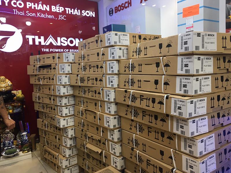 Bếp Thái Sơn luôn sẵn hàng để phục vụ mọi nhu cầu mua bếp