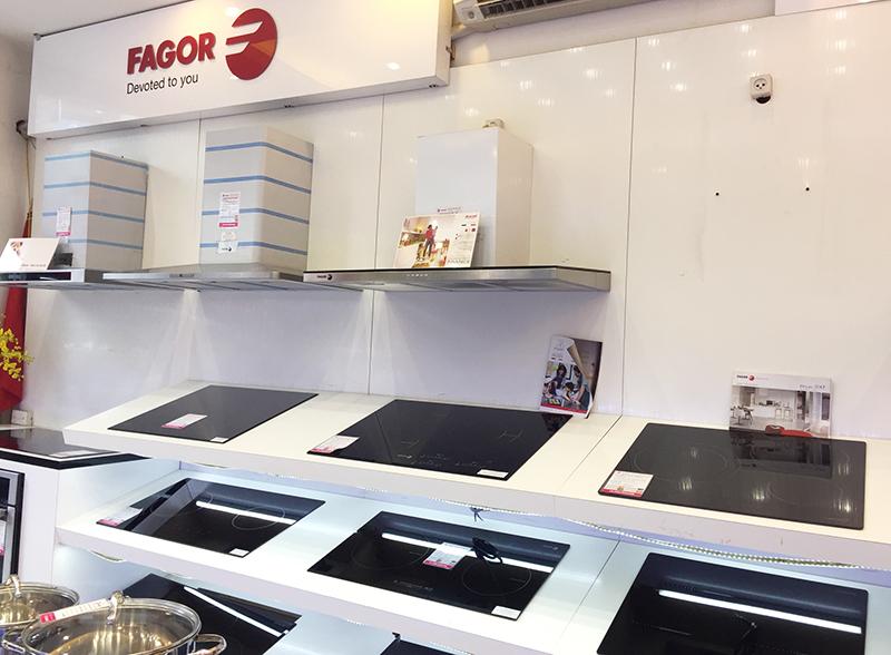 Bếp Thái Sơn là kề vai sát cánh cùng thương hiệu thiết bị bếp Fagor từ năm 2002