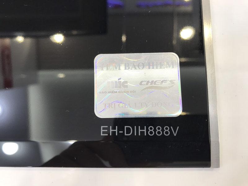 Bếp từ Chef's EH – DIH888V: Sắc xảo với bo viền kim loại