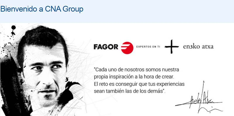 "Fagor ""anh cả"" của CNA Group"