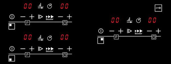 bảng điều khiển đơn giản, dễ sử dụng