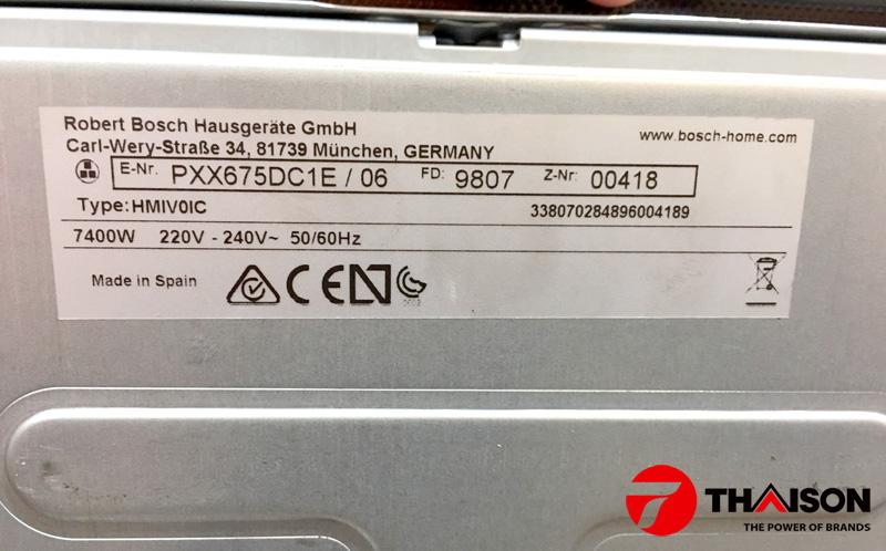 Bếp từ Bosch PXX675DC1E