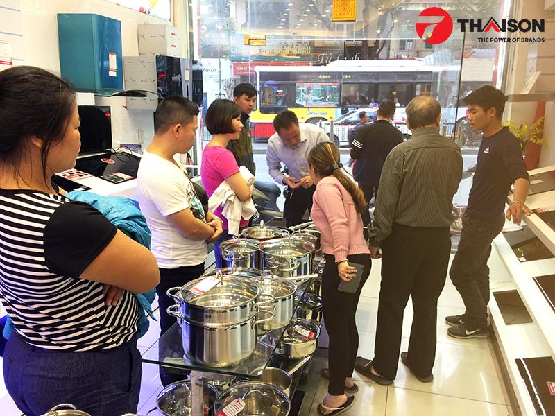 Bếp Thái Sơn nơi Người tiêu dùng đặt niềm tin mua sắm