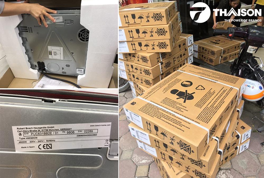 Bếp Thái Sơn phân phối Bosch PUC631BB2E