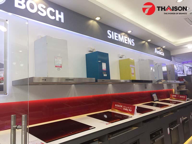 Bếp Thái Sơn là đại lý chính hãng phân phối các sản phẩm của Bosch