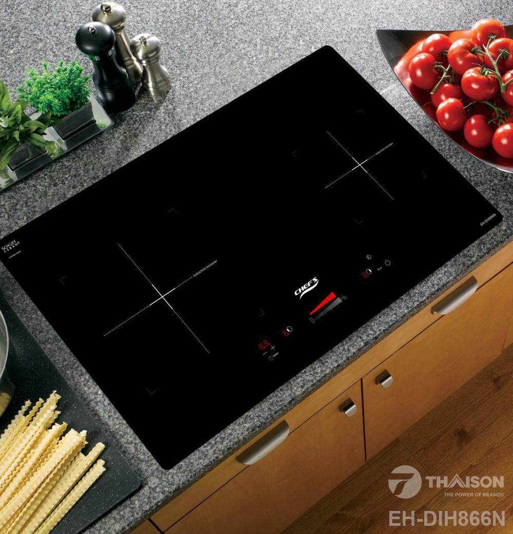 Bếp từ Chefs EH – DIH866N nhập khẩu Tây Ban Nha.