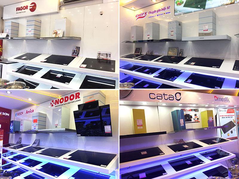 Bếp Thái Sơn bày bán hàng trăm nghìn sản phẩm bếp từ chính hãng