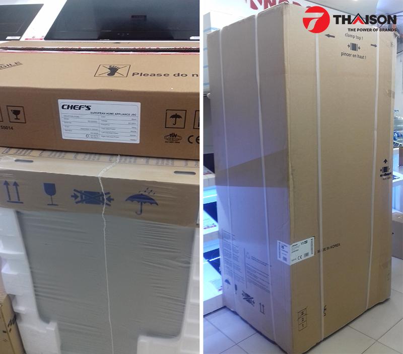 Tủ lạnh, máy rửa bát cũng nối đuôi nhau đến nhà khách