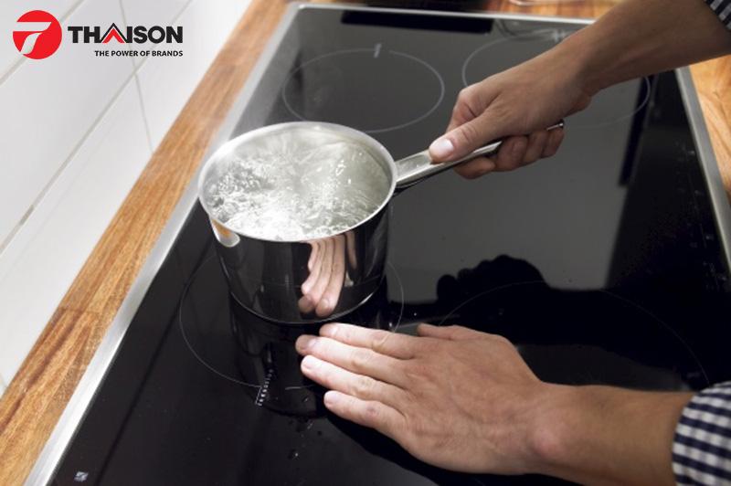 Lựa chọn bếp từ cho gia đình ở chung cư đảm bảo an toàn