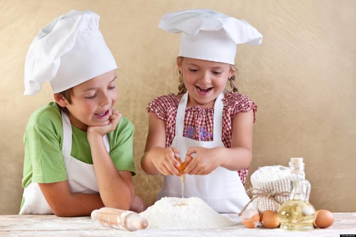 Yên tâm cho con học nấu nướng