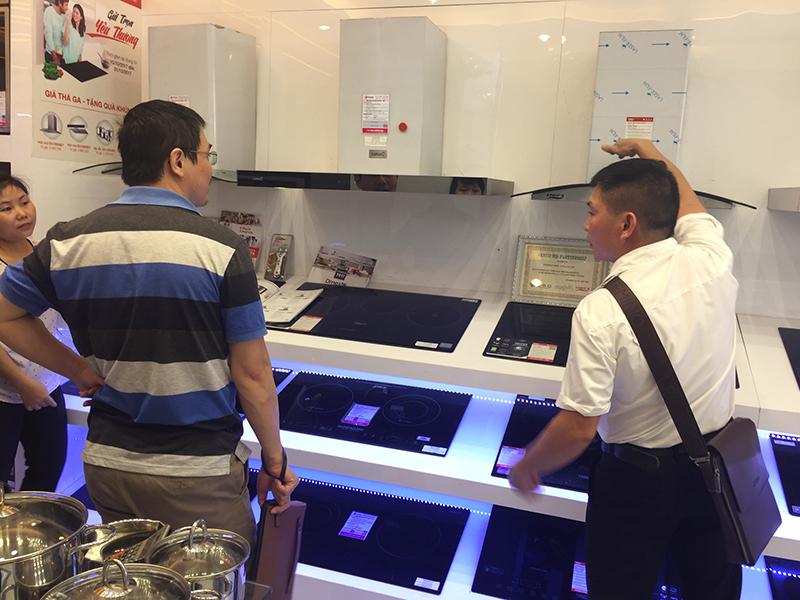 Bếp từ Châu Âu chính hãng, chất lượng tại Bếp Thái Sơn