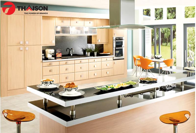 Không gian bếp ngày Tết sang trọng với bếp từ Fagor