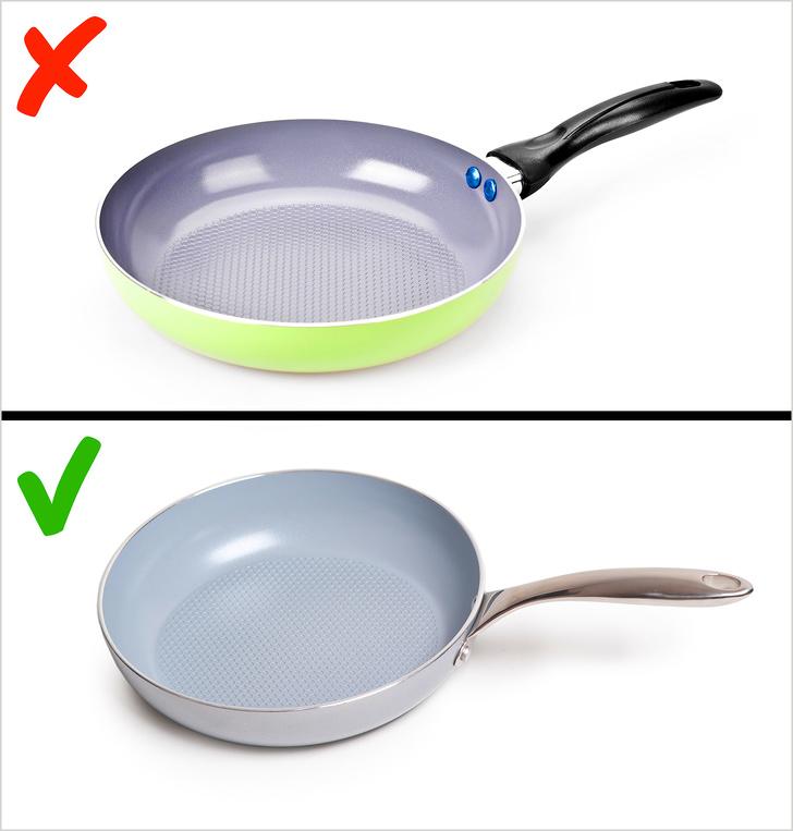 Sử dụng dụng cụ nấu an toàn