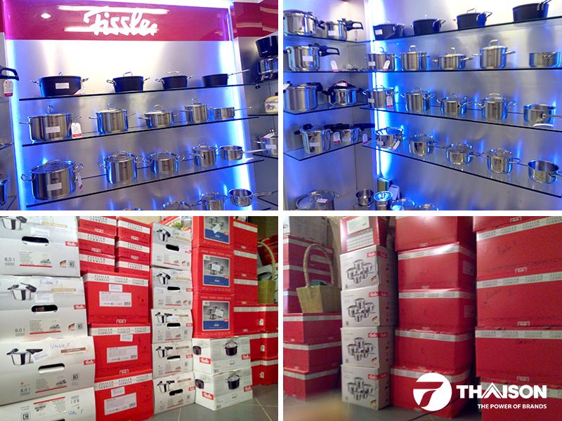 Bếp Thái Sơn cung cấp đa dạng các sản phẩm của Fissler