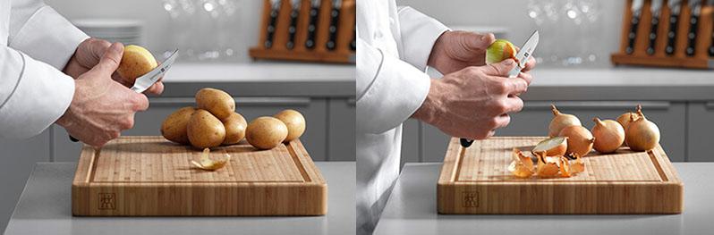 Dao gọt tiện dụng cho việt cắt gọt hoa quả, thực phẩm nhỏ