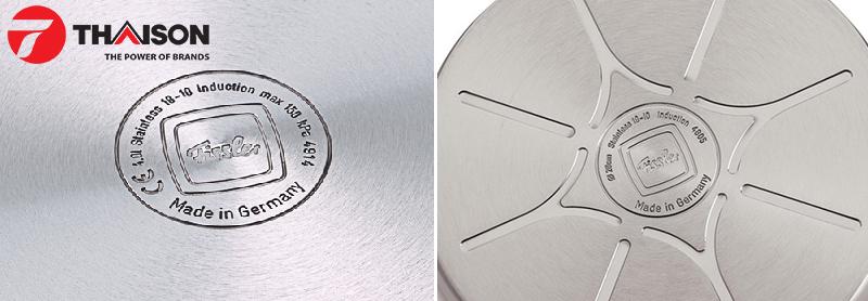 Tất cả các sản phẩm Fissler đều được chứng nhận an toàn CE