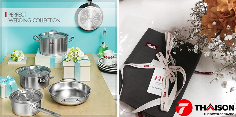 Đồ gia dụng Fissler được nhiều người lựa chọn làm quà tặng trong các dịp đặc biệt