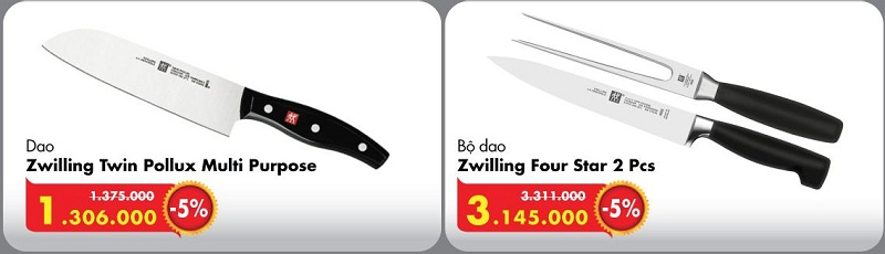Giá dao Zwilling Đức