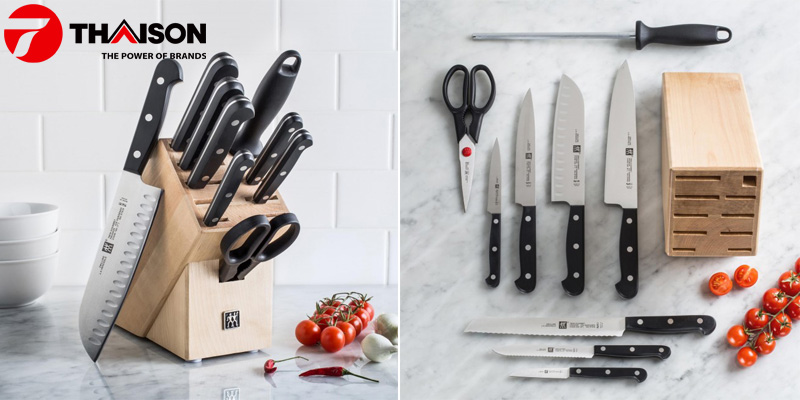 Bộ dao nhà bếp cao cấp chọn loại nào