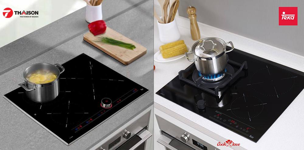 Bộ nồi sử dụng được các loại bếp, bao gồm cả bếp từ.