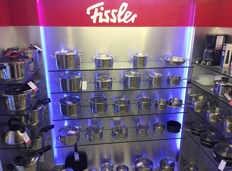 Bộ nồi từ Fissler 1845 được độc quyền bởi Bếp Thái Sơn