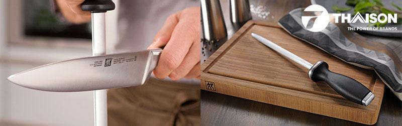 Nên thường xuyên mài để giữ độ sắc nét cho dao