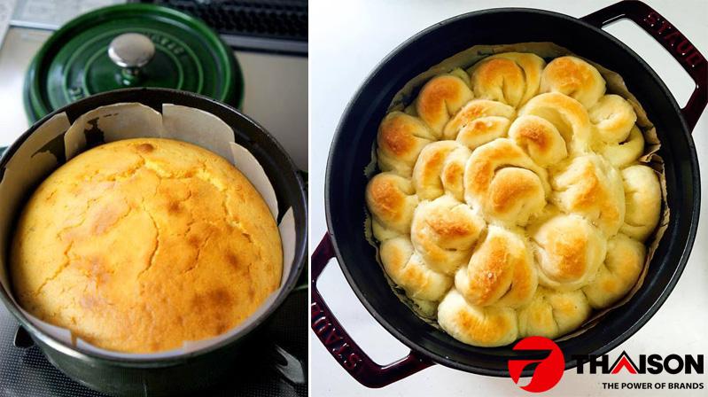 Nướng bánh không cần lò nướng