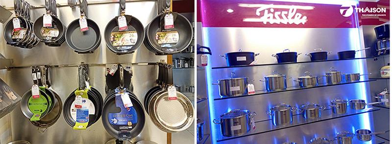 Bếp Thái Sơn hội tụ những thương hiệu đồ gia dụng nổi tiếng Fissler, Hokua, Staub