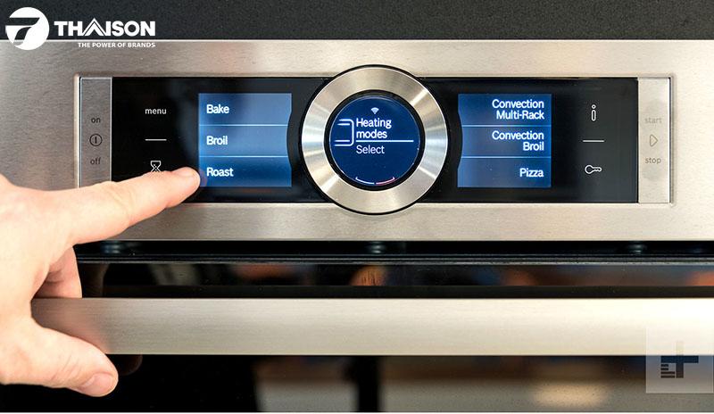 Hướng dẫn sử dụng các chế độ nấu của lò nướng Bosch