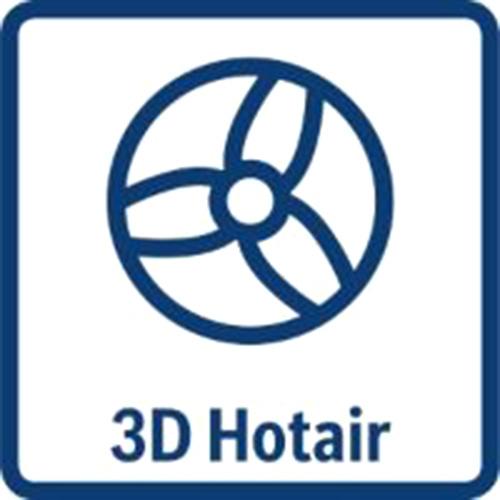 3D Hotair lò nướng Bosch