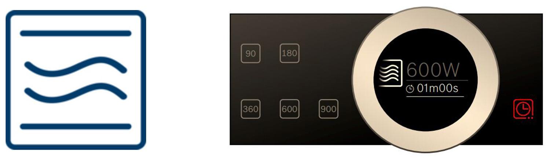 Chức năng nấu vi sóng của lò vi sóng Bosch