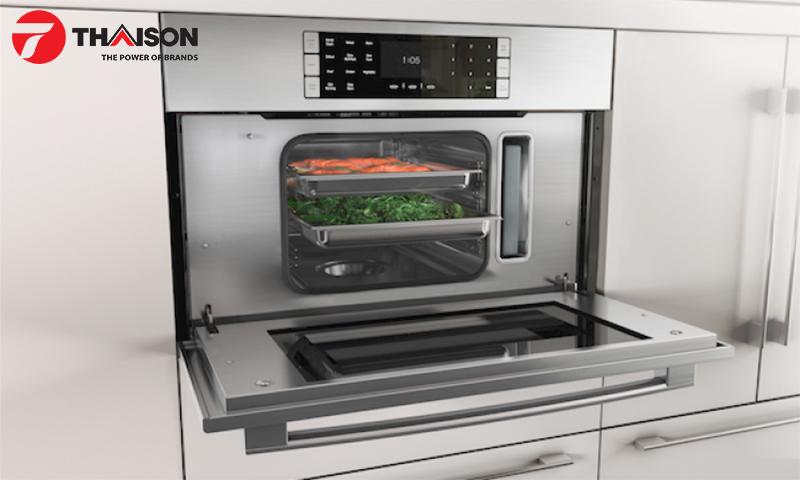 Lò nướng hơi nước bảo lưu dinh dưỡng cho thực phẩm