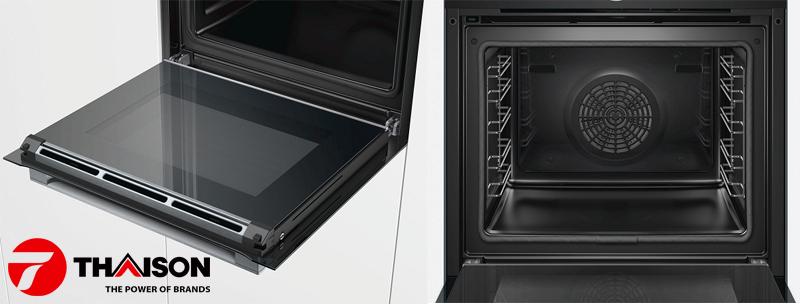Lò nướng Bosch nhiệt phân Serie 8 nào tốt