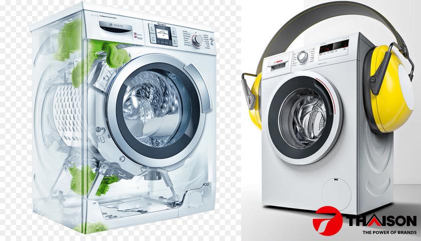 Máy giặt Bosch WAW32640EU có tốc độ vắt 1600 vòng/phút.